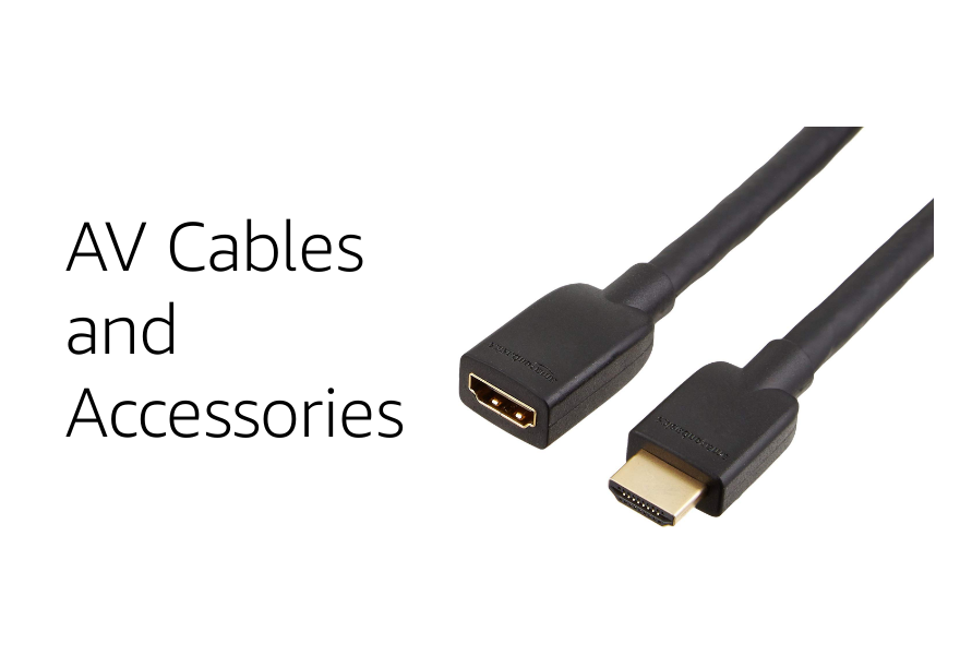 AV Cables and accessories Amazon basics