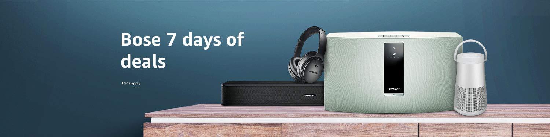 Bose 7 days of deals
