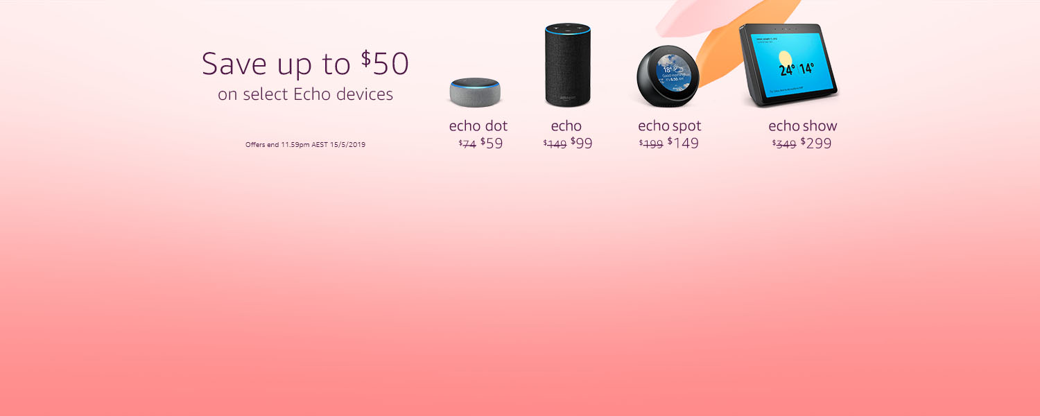 Easter deals on Echo devices