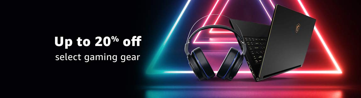 Save up to 20% on select gaming gear