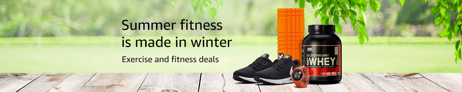 Exercise and fitness deals