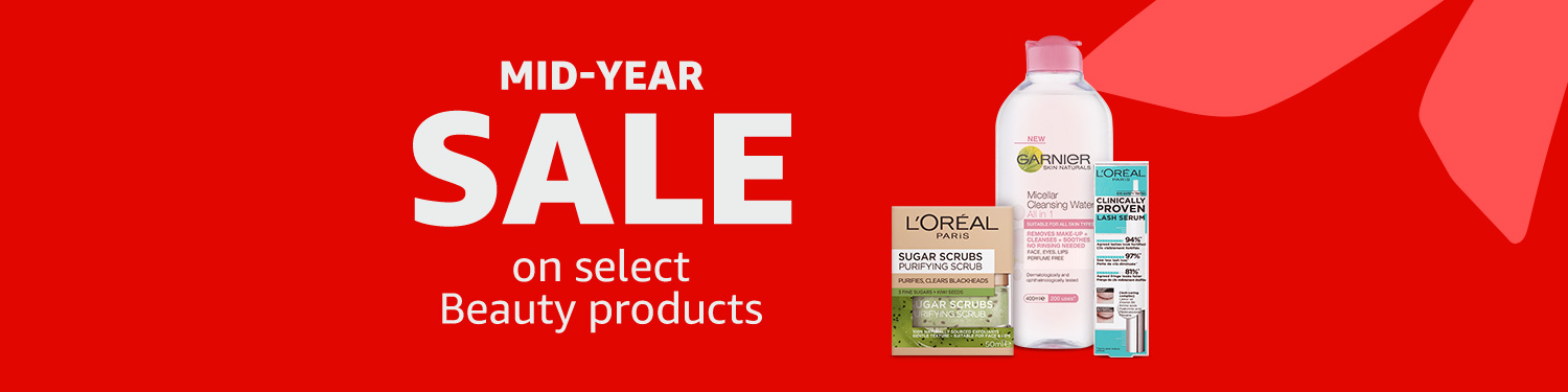 Mid-Year SALE on Beauty