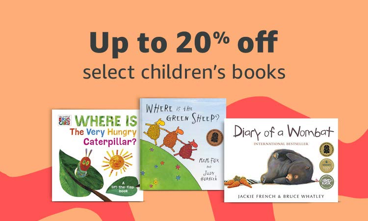 Up to 20% on select children's books