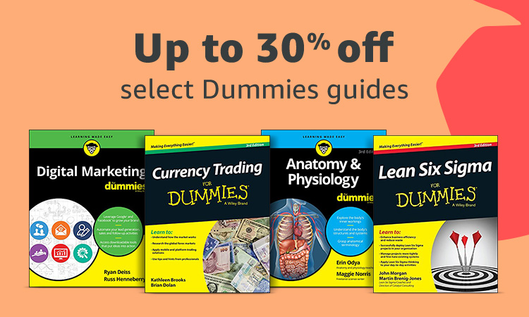 Up to 30% off select Dummies Guides