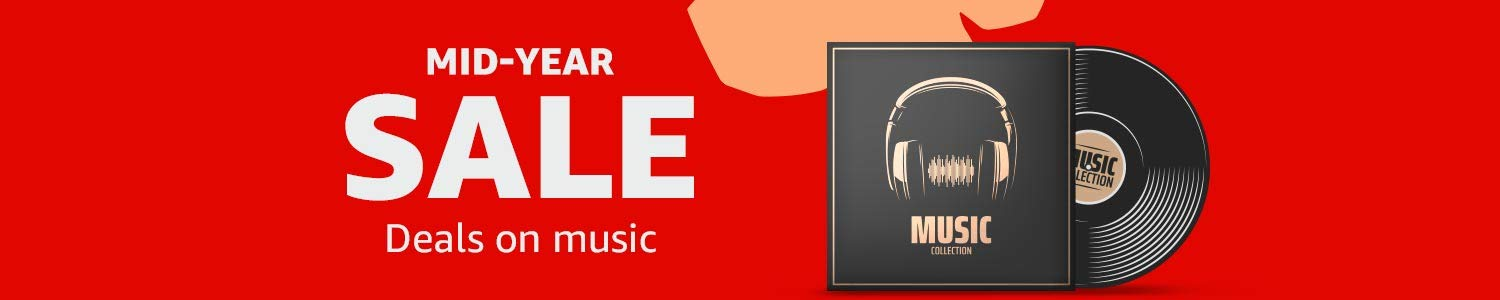 Mid Year Sale, deals on music