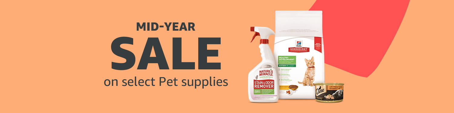 Mid-Year SALE on Pet Supplies
