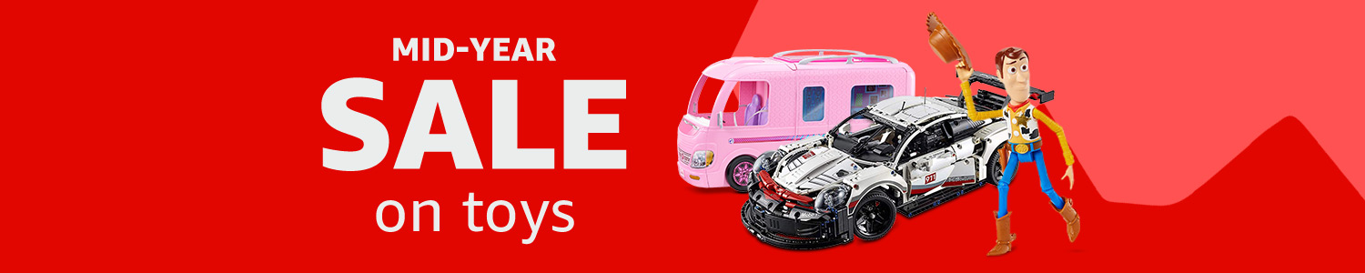 Up to 30% off select toys brands