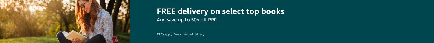 Free delivery + up to 50% off RRP on select books