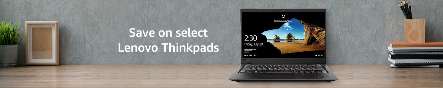 Save on select Lenovo Thinkpads