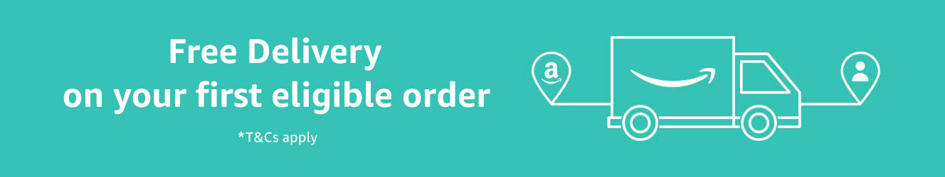 Get free delivery on your first eligible order