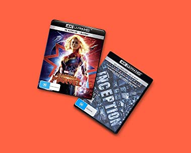 Up to 25% off select 4K Movies and TV