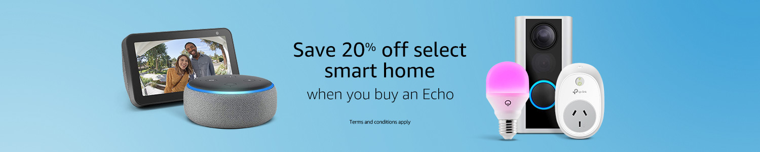 Smart Home and Echo deals
