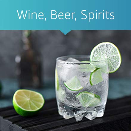 Wine, Beer, Spirits