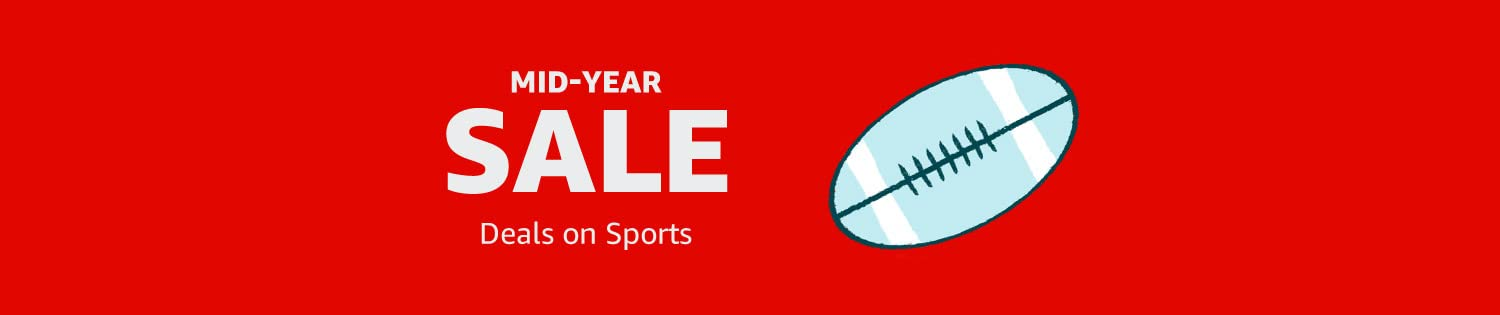 Mid-Year Sale: Deals on Sports