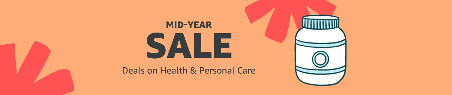 Mid-Year Sale: Deals on Health & Personal Care