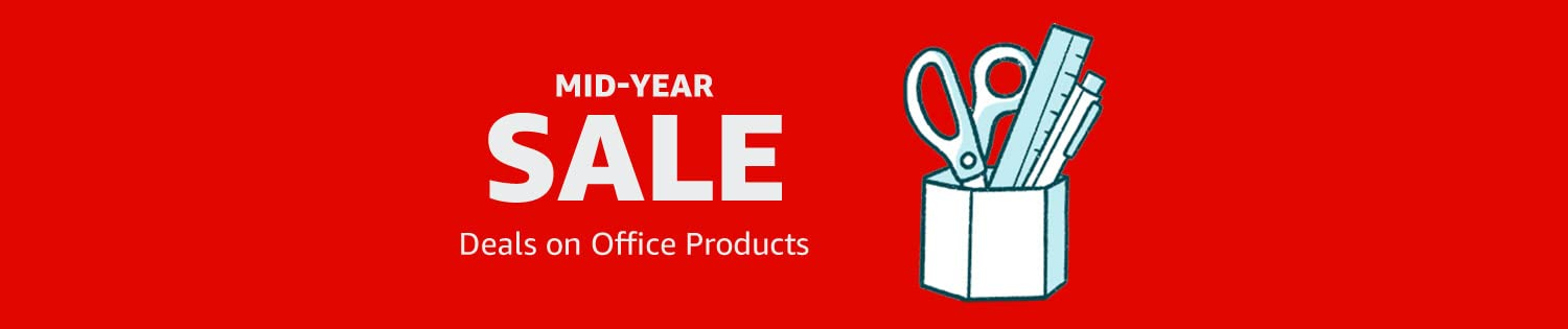 Mid-Year Sale: Deals on Office Products