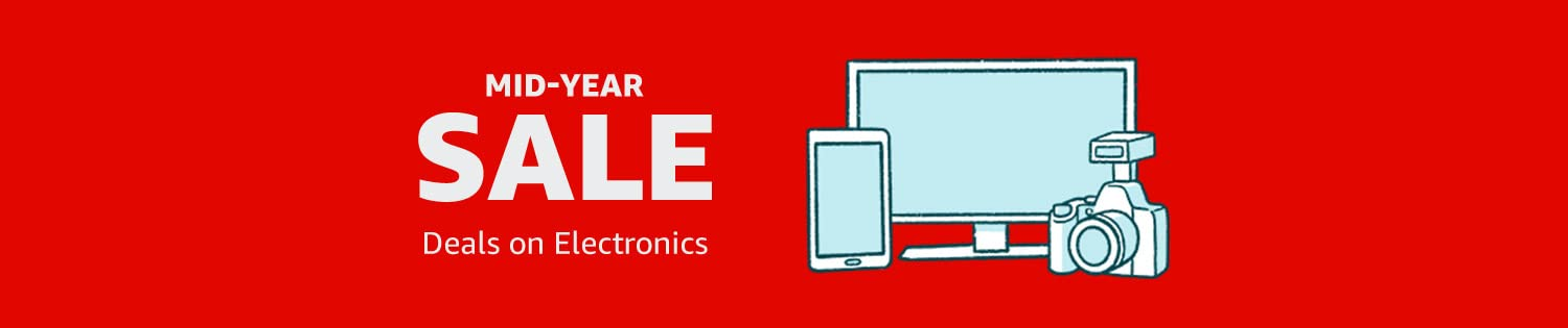 Mid-Year Sale: Deals on Electronics