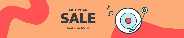 Mid-Year Sale: Deals on CD's & vinyl