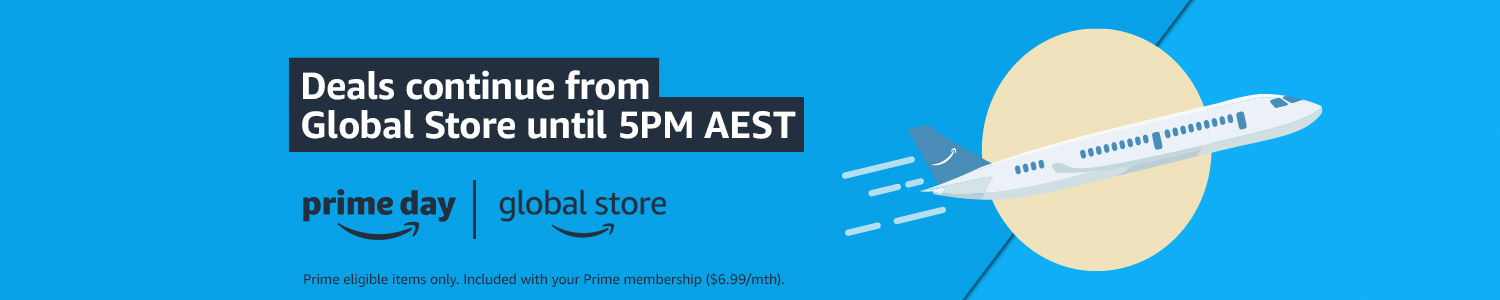 Deals continue from Global Store until 5PM AEST
