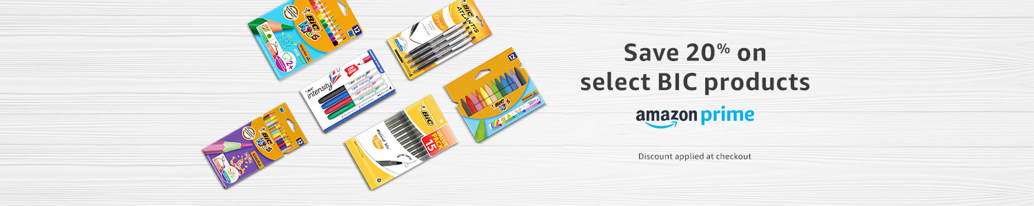 Save on select BIC products
