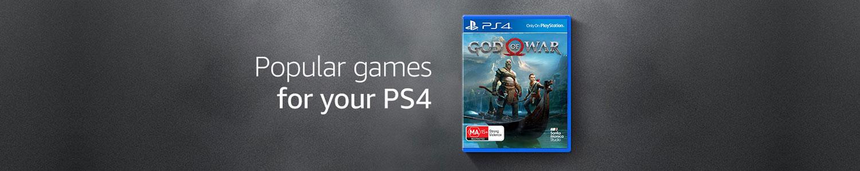 Popular PS4 games