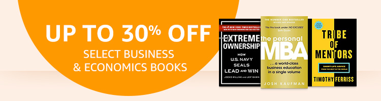 Up to 30% off select Business & Economics books