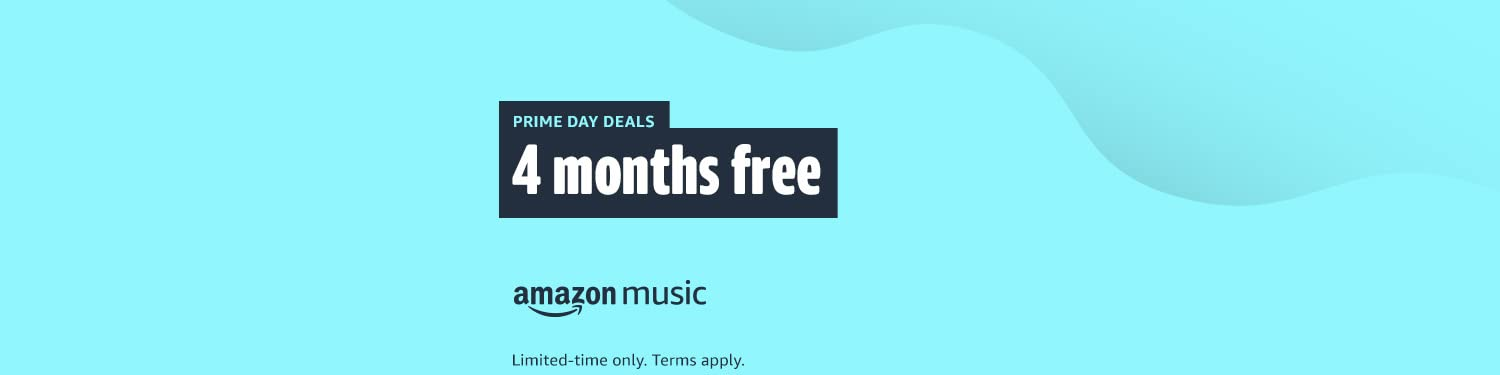 Amazon Music Unlimited: 4 Months free