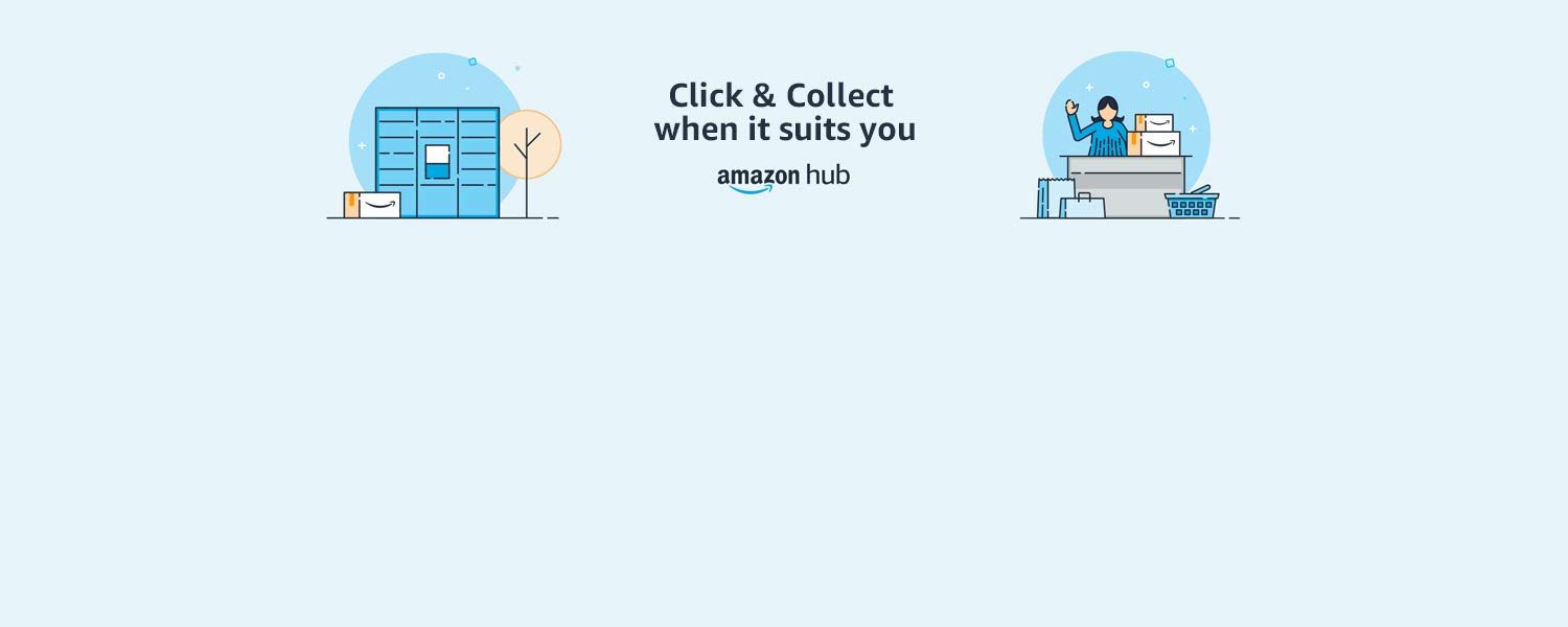 Click & Collect when it suits you - Amazon Hub