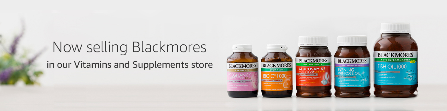 Now selling Blackmores