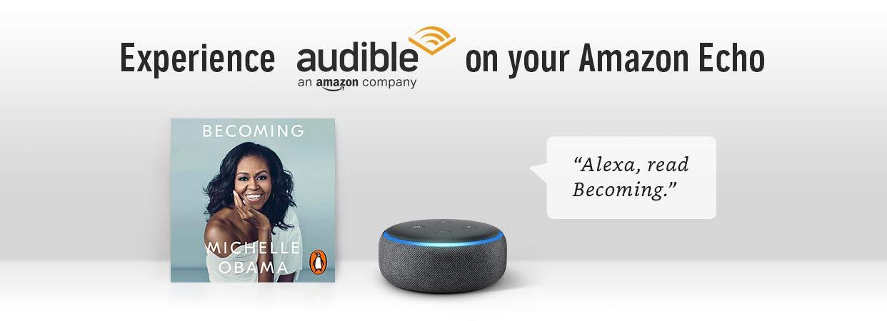 Experience Audible on Amazon Echo