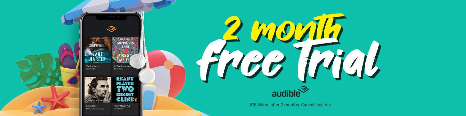 Special offer - 2 month free Audible trial