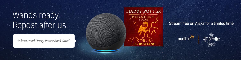 Stream Harry Potter Book one free on Alexa
