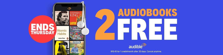 2 Audiobooks Free