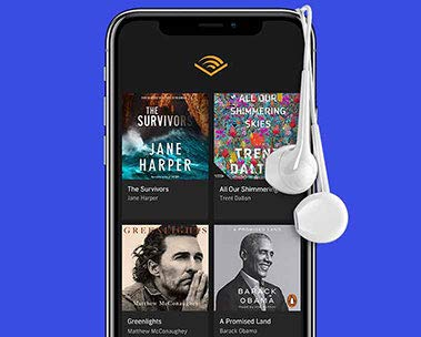 Choose two audiobooks free with a trial