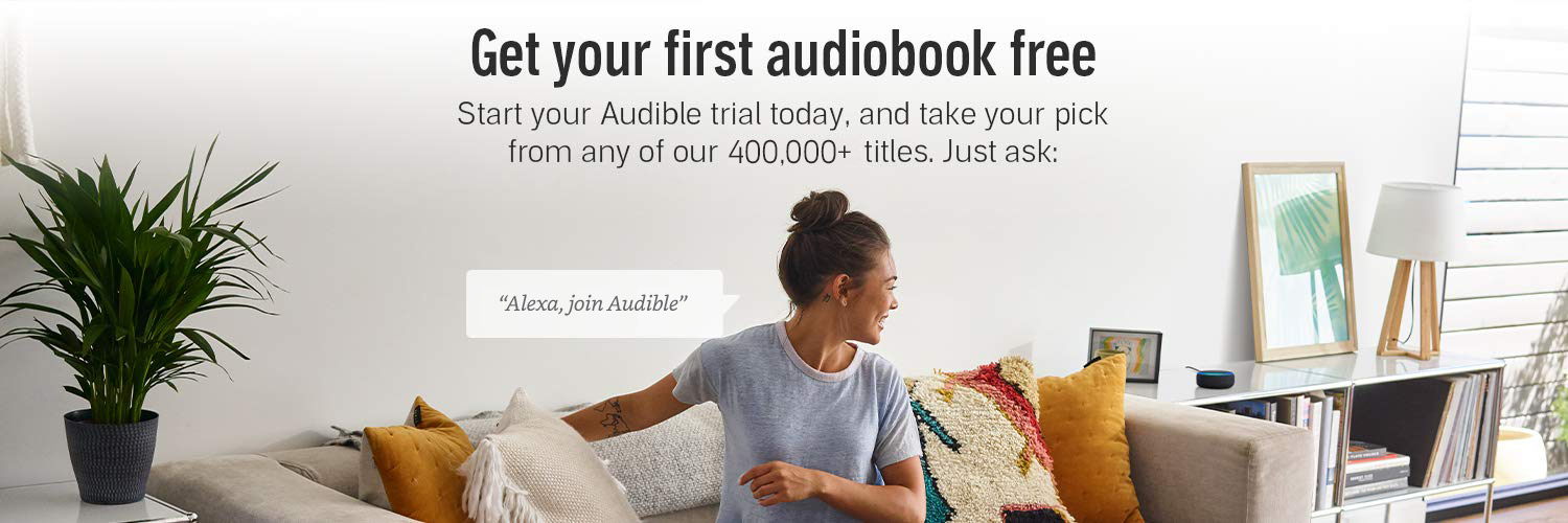 Get your first audiobook free