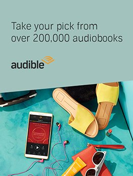 Take your pick from over 200,000 audiobooks