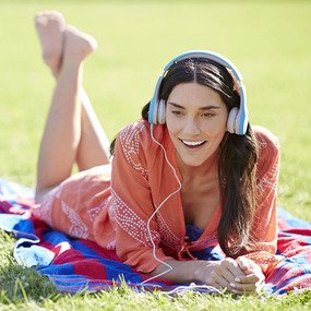 Enjoy listening when relaxing