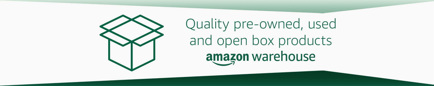 Amazon Warehouse Quality Pre-Owned, Used, and Open Box Products