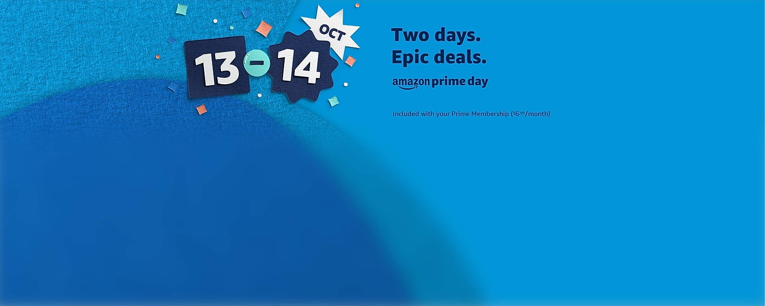 Prime Day: 13th and 14th of October