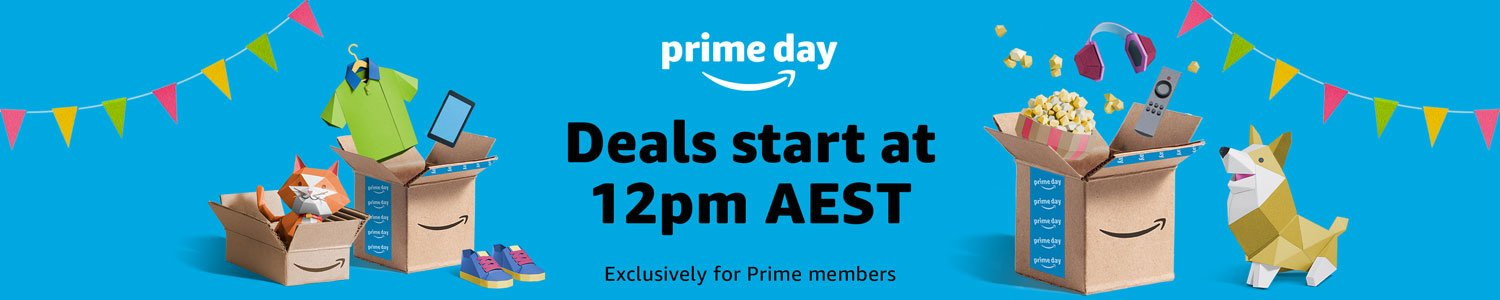 Prime Day -- deals start at 12pm AEST
