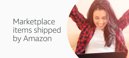 Marketplace products shipped by Amazon