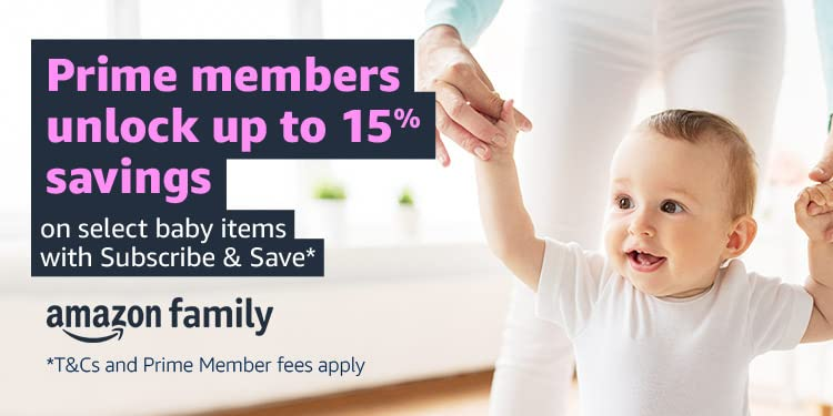 Save up to 15% on select baby items with Subsribe and Save