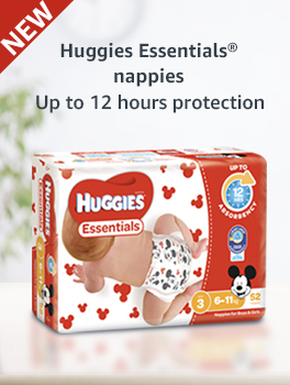 New Huggies Essentials nappies