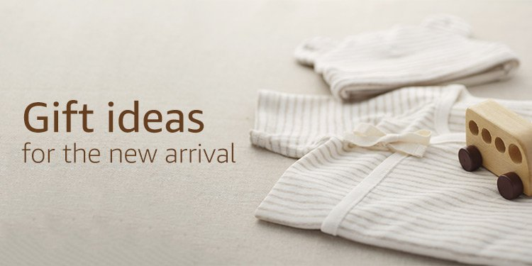 Gift ideas for the new arrival