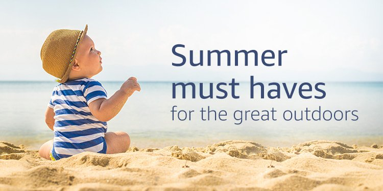 Summer must haves for the great ourdoors