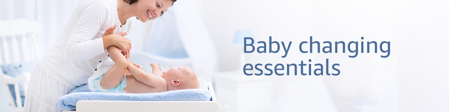 Baby changing essentials