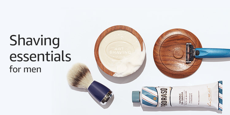 Shaving essentials for men