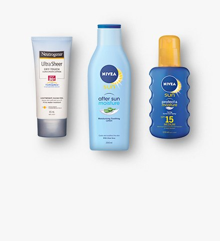 Sun care and tanning products