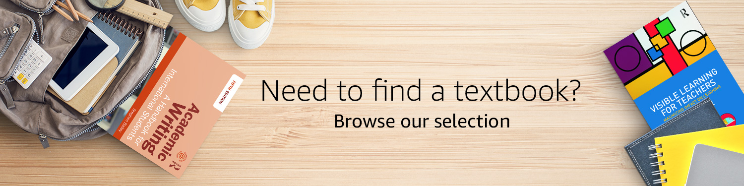 Need to find a textbook? Browse our selection