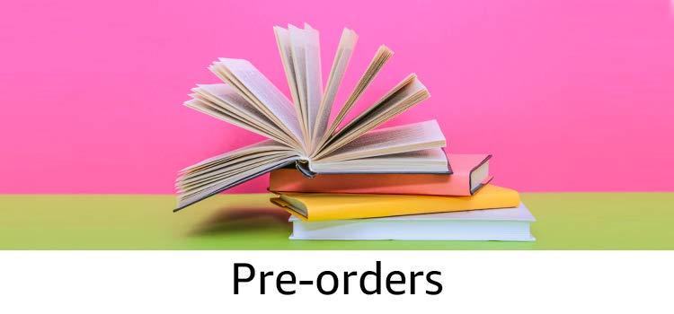 Pre-order books